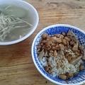 鴨肉珍的心肝湯和鴨肉飯