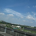 高鐵上的雲