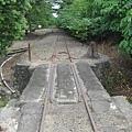 南州糖廠門口廢棄已久的軌道