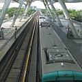 捷運世運站鳥瞰軌道區