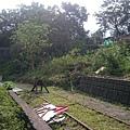 菁桐警察局後方的路線終點