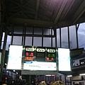出町柳駅,要搭的是往鞍馬的車,停在3號月台