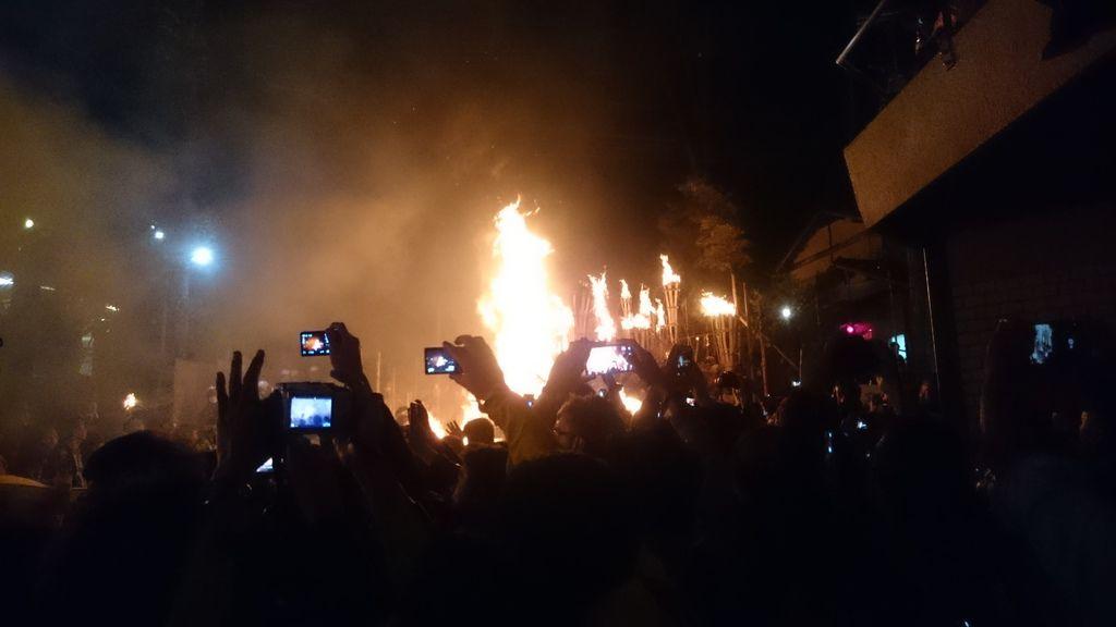火勢十分猛烈