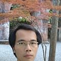 和南禅寺裡的一棵小紅葉自拍