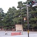 平安神宮前方的廣場