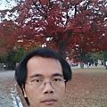 平安神宮外自拍