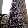 20151127 Xmas Tree #1: 市府轉運站 2F 外廣場