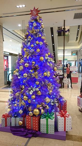 20151127 Xmas Tree #2: 統一阪急 1F