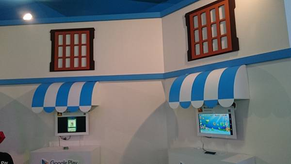 Google Play 遊樂園內部各種遊戲