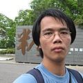 台灣糖業博物館前自拍