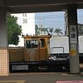 永康站內的工程維修車