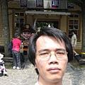 勝興車站前自拍 3