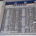 平溪時刻表