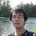 琵琶湖前自拍1