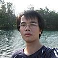 琵琶湖前自拍2