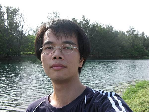 琵琶湖前自拍3