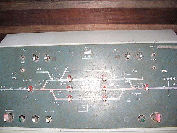 馬蘭的信號顯示儀器,上面還有卑南站…