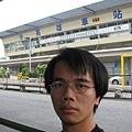 高雄車站前自拍