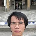 竹東站前自拍1