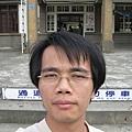 竹東站前自拍2