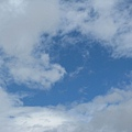 天空白雲朵朵