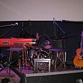 舞台上的樂器們