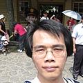 勝興車站前自拍 1