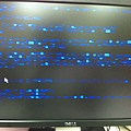 連字都看不到的藍色死亡畫面