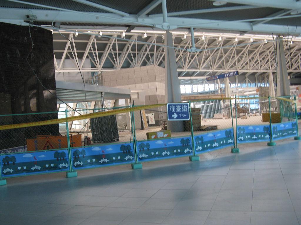 施工中的新烏日站