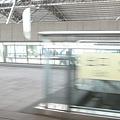 列車駛離台中站