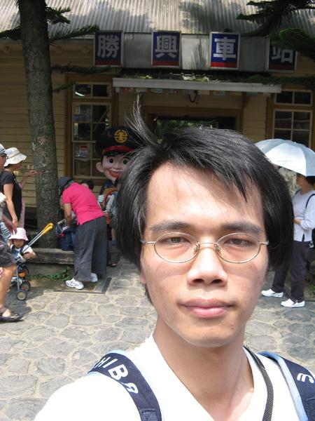 勝興車站前自拍 2