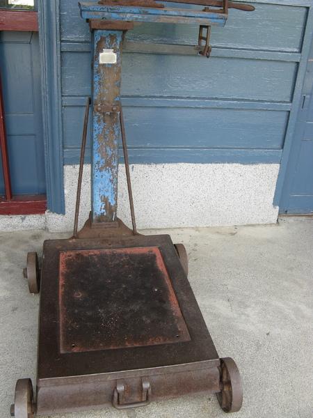 舊站的磅秤