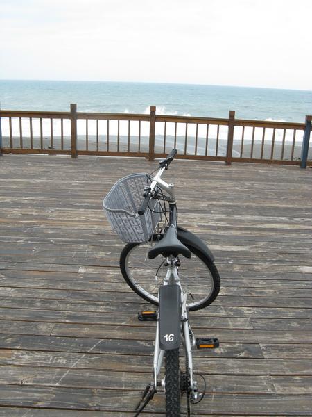 飯店免費提供借用的腳踏車