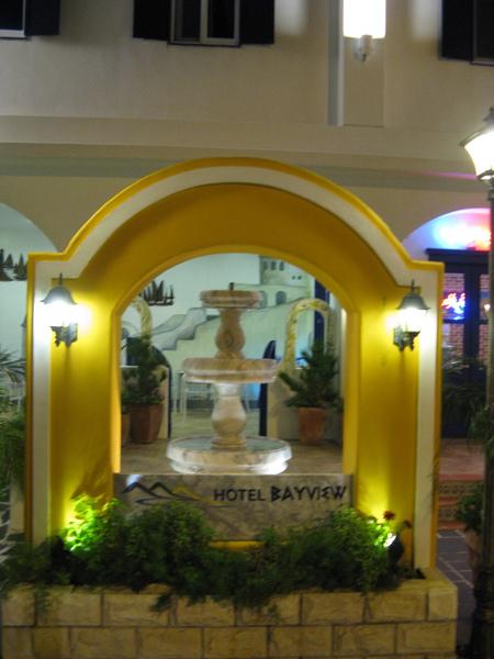 飯店門口造景2