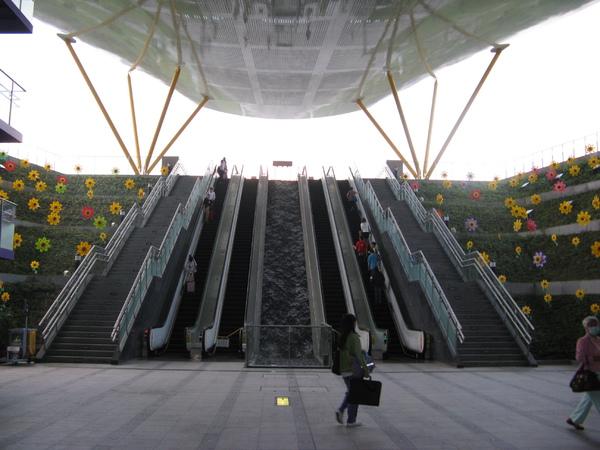 中央公園站水廣場