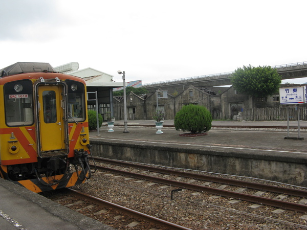 替內灣線列車和竹東拍一張