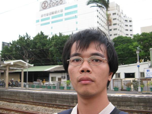 新竹站自拍2