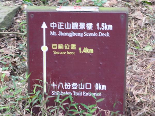 距登山口1k+400