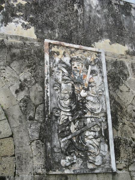 鳳山縣舊城 - 拱辰門門神 2