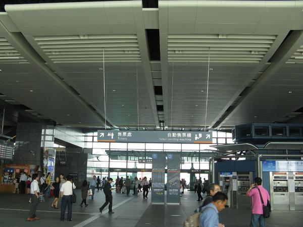 高鐵台中站大廳