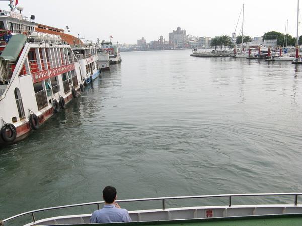 渡輪上海景 3