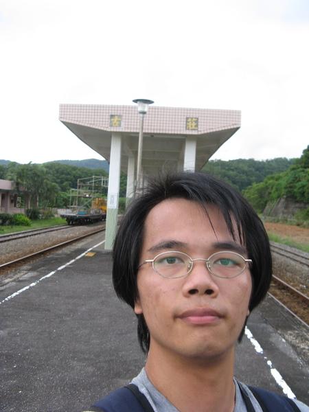 古莊站月台自拍 4