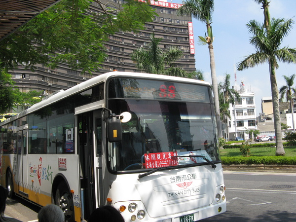 台灣好行在台南的88號公車