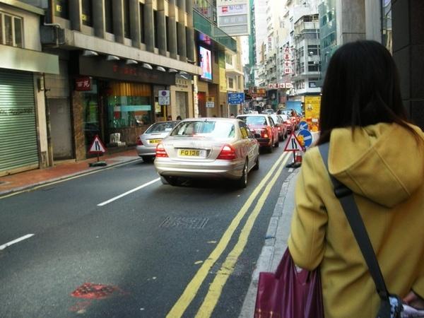 香港名車多