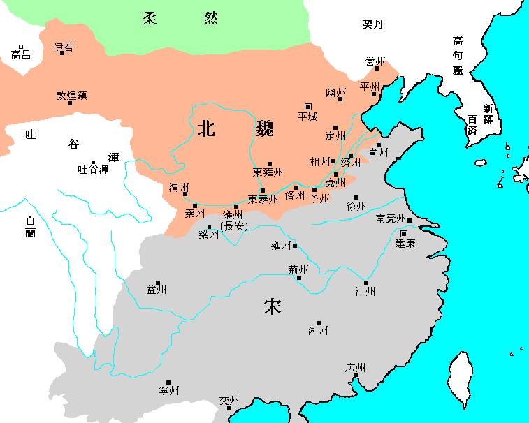 Map_of_Northern_Wei_and_Liu_Song_Dynasty_ja
