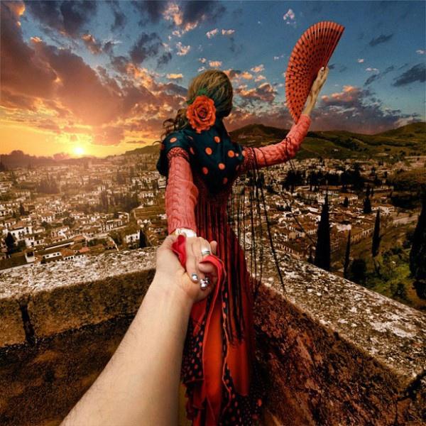 創意旅行!攝影師追著女朋友到世界各地1-600x600