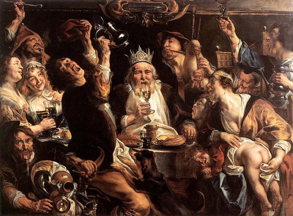 国王饮酒1