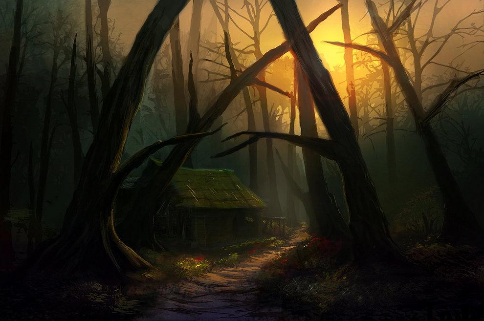森林小屋-作者-Edli