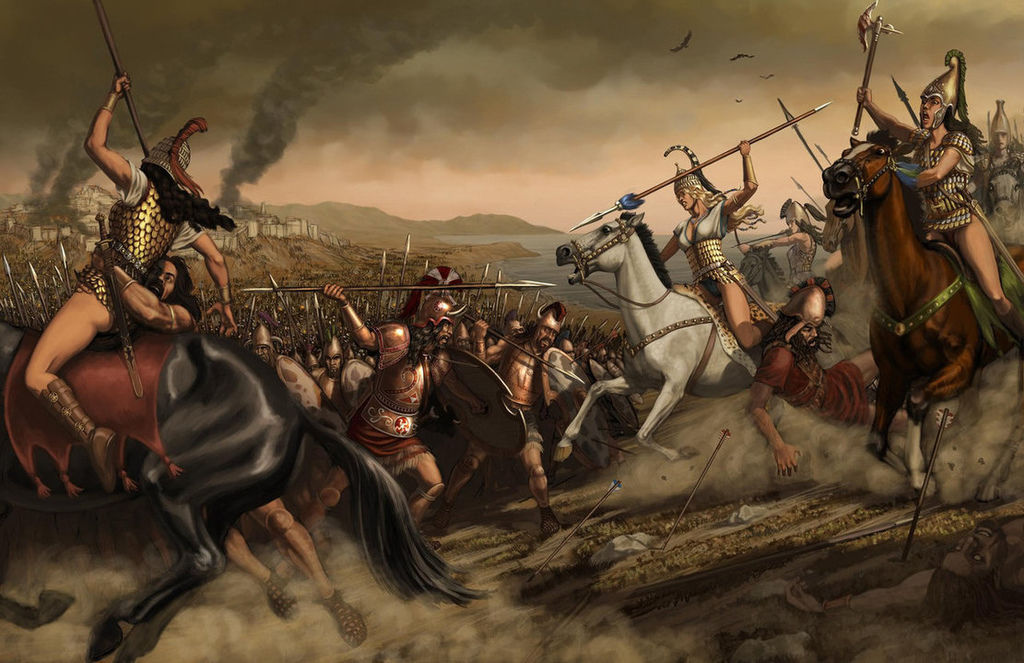 Last_charge_of_the_Amazons_by_zpapageo