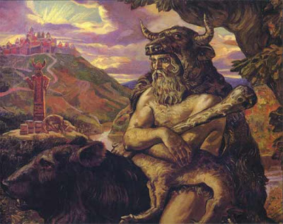 Veles the Slavic God